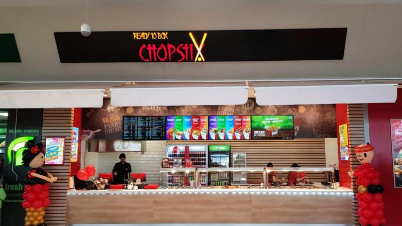 Ready to Box Chopstix Romania redeschide locatia din Brasov Coresi Shopping Resort dupa un proces de reamenajare
