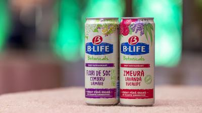 Ursus Breweries lansează B-LIFE Botanicals, o băutură răcoritoare și o inovație în categoria băuturilor fără alcool
