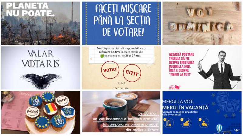 Ce aduce votul: brioșe, cafea, cărți, vacanțe, reduceri, muzică