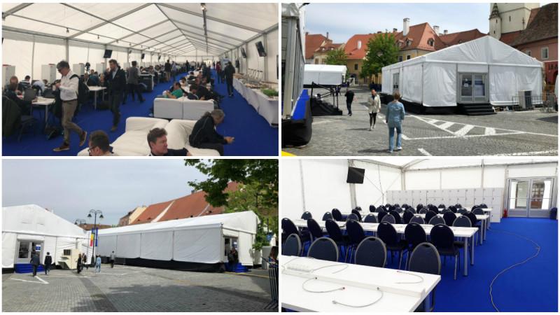 Backstage Production Group a asigurat productia tehnica a Summitului european de la Sibiu