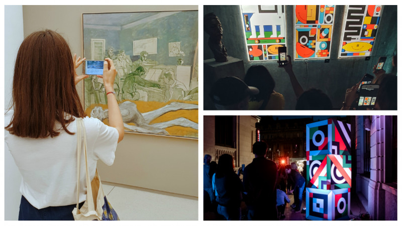 dARe by Samsung - Arta tradusa prin senzatii, la Noaptea Muzeelor #15