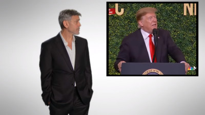 George Clooney, apel împotriva idioțeniei