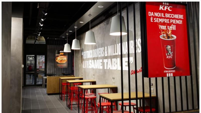 Grupul Sphera își consolidează poziția pe piața externă prin deschiderea unui nou restaurant KFC în Italia