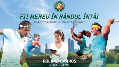 Eurosport își trimite fanii la Roland-Garros și îi încurajează să transmită mesaje pentru jucătorii preferați printr-o campanie OOH