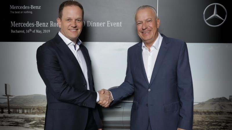 Martin Schulz va prelua funcția de CEO al Mercedes-Benz România de la predecesorul său, Philipp Hagenburger