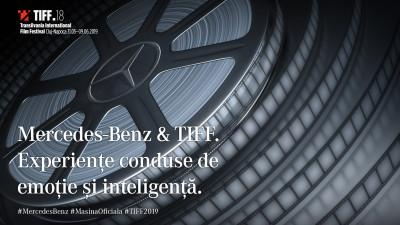 Mercedes-Benz - Mașina Oficială a TIFF, pentru al treisprezecelea an