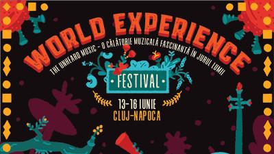 Muzica neștiută a lumii va răsuna la Cluj-Napoca, între 13-16 iunie, la cea de-a cincea ediție aniversară a festivalului World Experience
