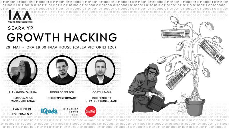 IAA Young Professionals organizează prima Seară YP Growth Hacking