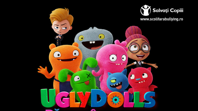 """Educație prin distracție? Hai cu clasa la """"UglyDolls: Păpuși în bucluc"""" până pe 1 iunie și luptă împotriva bullying-ului"""