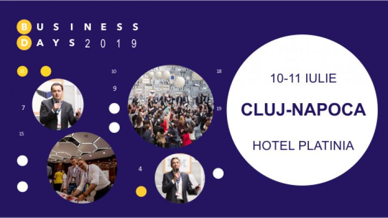 Tehnologia și transformările digitale în centrul atenției la Cluj Business Days 2019
