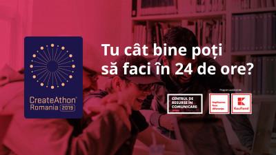 CreateAthon® România - Cât bine poți crea în 24 de ore?Maraton de servicii de comunicare pro-bono pentru ONG-uri