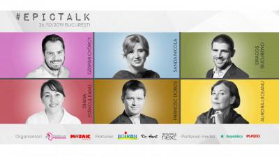 #EpicTalk2019. Bilete la preț redus până în data de 30 iunie 2019