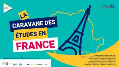 Prima ediție a Caravanei studiilor în Franța – un nou capitol în relația franco-română