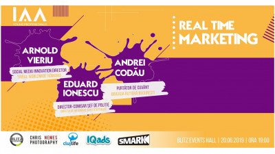 IAA Young Professionals Cluj organizeaza un eveniment despre Real Time Marketing