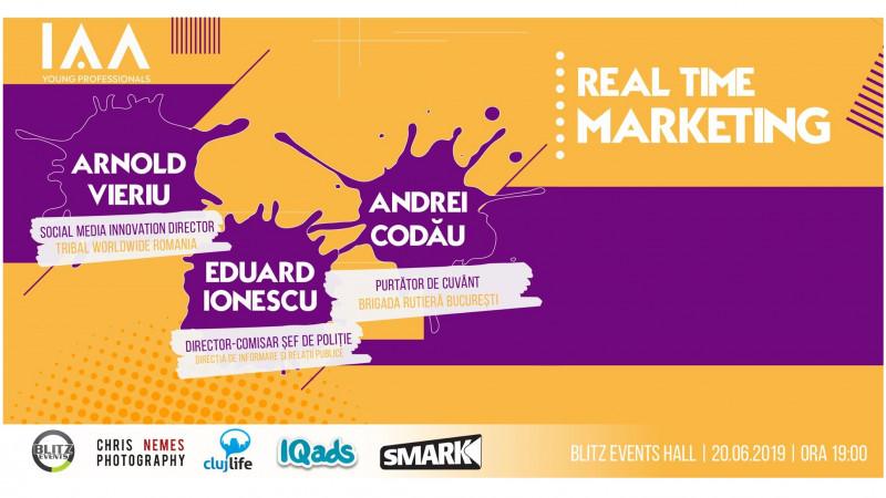 IAA Young Professionals Cluj organizeaza un eveniment despre Real Time Marketing