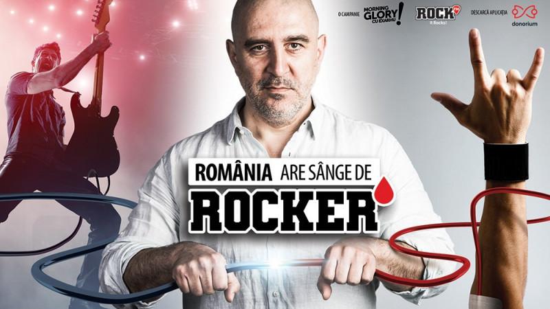 """Ziua Mondială a Donatorului de Sânge, sărbătorită prin rock.Campania """"România are sânge de rocker"""" a adus cu aproape 800 de pungi de sânge mai mult, în luna mai, la Centrul de Transfuzie București – echivalentul a 1.600 de vieți salvate"""