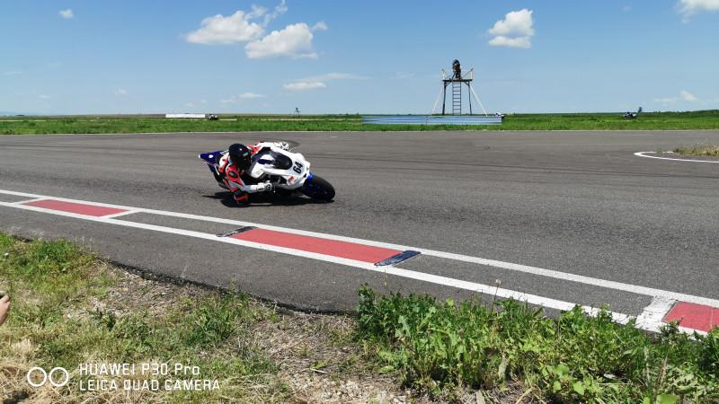Imagini spectaculoase surprinse în cadrul celei de-a treia etapăa Motorcycle Romanian Championship