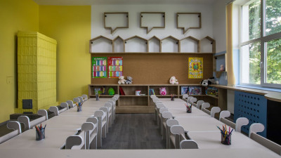 P&G își unește forțele cu Penny Marketpentru a transforma o sală de clasă în a doua casă