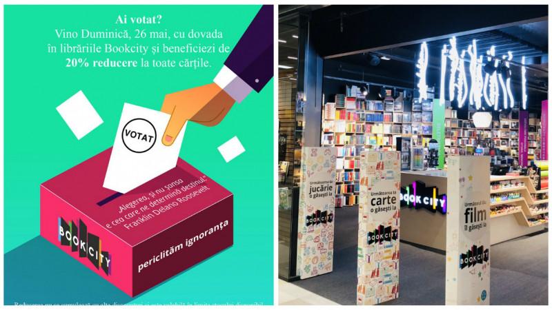 """[Votul companiilor] Andreea Morariu: Șocul a venit din librării, unde au venit clienţii care îşi prezentau cartea de identitate cu ştampila """"Votat"""""""