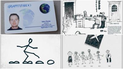 Istoria personală a lui Gelu Florea la Graffiti BBDO în vorbe și imagini