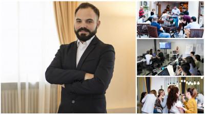 [Scoli alternative] Vlad Iliescu, Atelierele ILBAH: Online-ul conteaza mult, dar offline-ul genereaza incredere si, deci, conversii