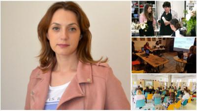 [Școli alternative] Bianca Preda, Creative Business Management: Switch-ul nostru spre educație a pornit de la proiectele de comunicare dezvoltate pentru clienți
