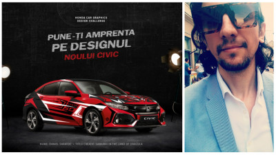[CIVIC 5D in haine noi] Un Samurai isi face loc pe modelul Honda Civic 5D, in propunerea lui Daniel Saratoc
