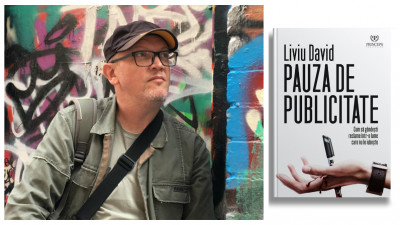 """Liviu David intră în Pauza de Publicitate: Aș vrea ca reacția celor care o citesc să fie la fiecare pagină """"haha, are dreptate"""""""