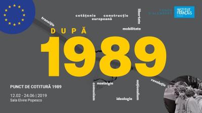 """Institutul Francez organizează penultima seară din proiectul """"Punct de cotitură 1989"""""""