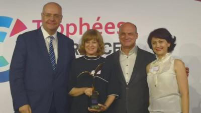 Primul premiu internațional pentru Dăruiește Viață