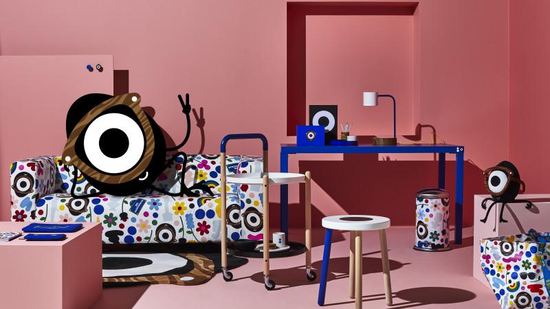 FÖRNYAD, o colecție jucăușă care celebrează viața studențească modernă, vine la magazinul IKEA din Băneasa