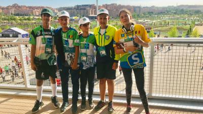 România a participat pentru al treilea an consecutiv în programul internațional pentru copii Fotbal pentru Prietenie