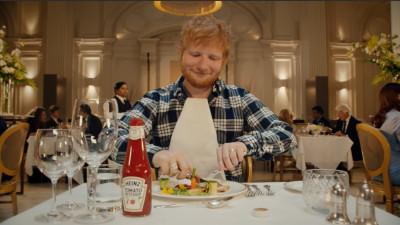 Heinz, lovemark-ul lui Ed Sheeran