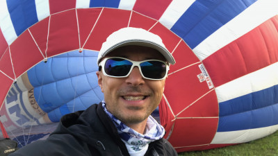 Andrei Roșu intră în cursa pentru depășirea unor noi limite:vrea să stabilească 3 recorduri mondiale la zborul cu balonul