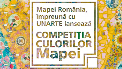 Singura competiție de tablouri mozaic dedicată studenților de la facultățile de Arte și Design, inițiată de Mapei România, a ajuns la cea de-a treia editie in București