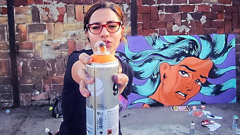 [Strada e pe bani] Roxana Netea, despre arta dialogului în street art