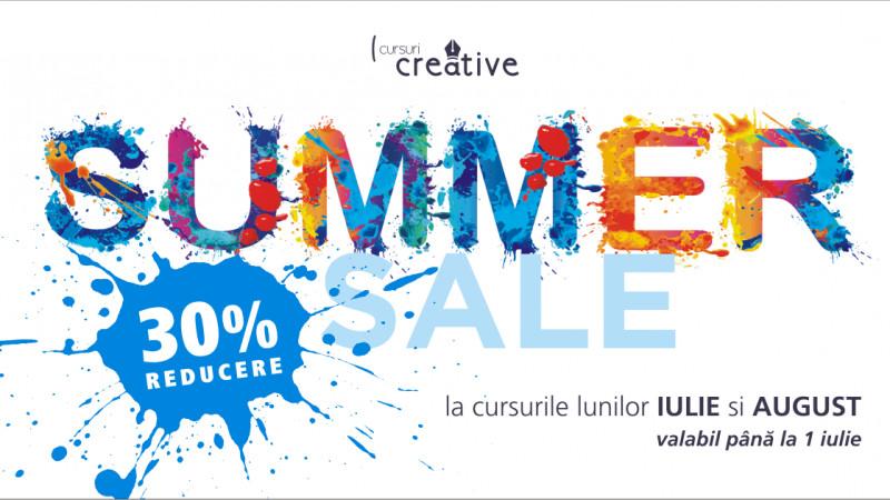 Summer Sale, 15 sesiuni de training cu reducere de 30%