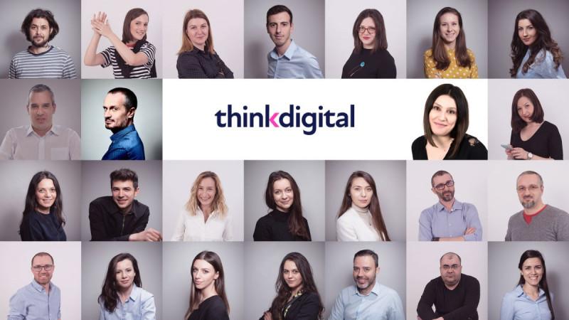 Thinkdigital anunță o nouă identitate și poziționare: centrul de vânzări media, pentru întreaga regiune, se mută la București