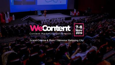 Jay Baer și alți experți de talie internațională, pe scena WeContent 2019