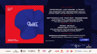 #AWAKE3 anunță programul pe zile, biletele de 1 zi și suplimentul de camping + 2 surprize în Line-up