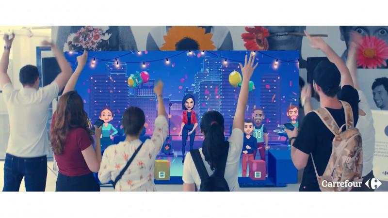 Campania digitală aniversară dezvoltată de Carrefour România și Mind Treat Studios depășește 1.000.000 de sesiuni de joc în primele 3 săptamani de campanie