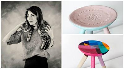 [Obsesii part-time] Andreea Mateescu (Cohn&Jansen JWT) si creatiile ei colorate: Momentan lasam asta la stadiul de hobby, nu vrem sa se transforme intr-un al doilea job