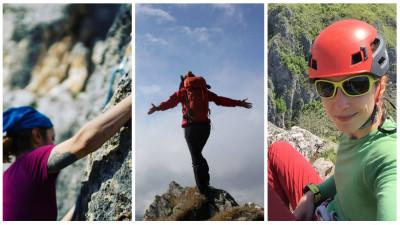 [Obsesii part-time] Simona Oprea (Golin): Am fost în expediții la peste 5.000 m altitudine, urc pe creste, piui prin păduri ca să evit urșii, dorm la refugii