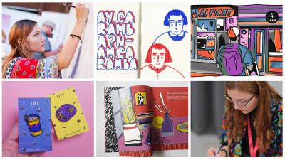 [Obsesii part-time] Diana Grigore (Jazz): 60% din ceea ce fac devine într-un fel sau altul ilustrație