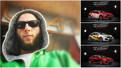 "[CIVIC 5D in haine noi] Andrei Popescu, 3 inscrieri si o favorita din ciclul ""fara curse, Honda nu exista"""