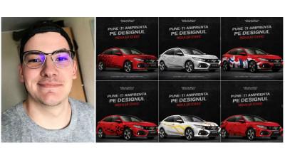 """[CIVIC 5D in haine noi] 6 inscrieri felurite de la Florin Olariu: """"Am pornit de la ce-as vrea eu sa vad pe modelul Civic"""""""
