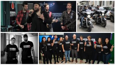 """#RomaniaAreSangeDeRocker: o demonstrație cu ecou prin care """"donarea de sânge devine un subiect firesc, poate chiar cool"""""""
