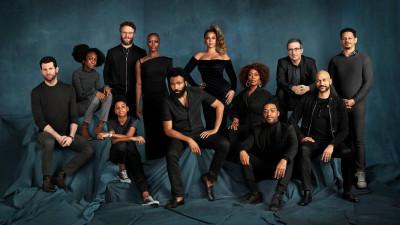 """Actorii care dau naștere vocilor din """"The Lion King / Regele leu"""" într-o ședință foto inspirată de tematica filmului"""