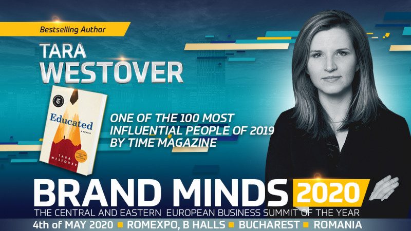 The Author of Educated Bestseller joins BRAND MINDS 2020!