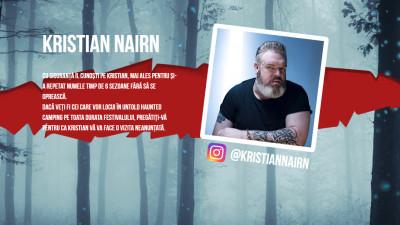 KFC România anunţă prezenţa celebrului actor din Game of Thrones, Kristian Nairn, în Haunted Camping-ul din pădurea Hoia-Baciu